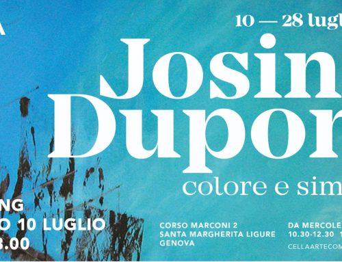 JOSINE DUPONT – COLORE E SIMBOLO